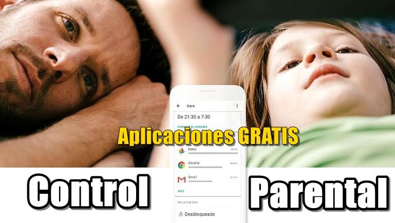 lista de aplicaciones que son para contrl parental