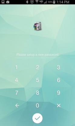 apariencia de applock