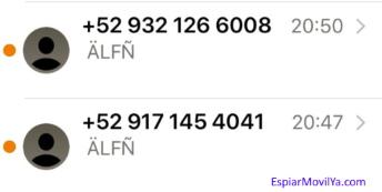 ejemplo de sms con codigos