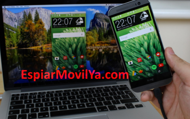 ver pantalla móvil en el pc