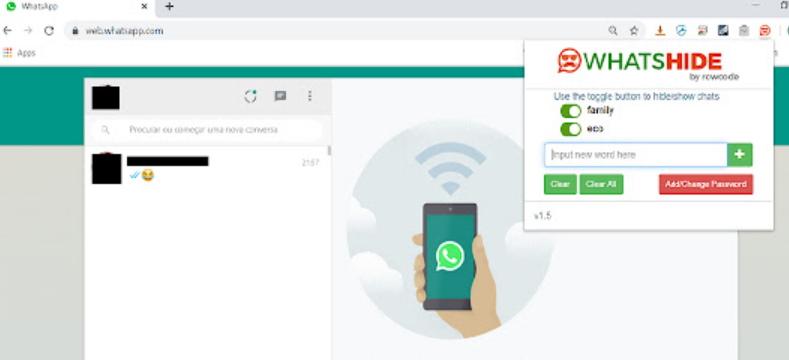ocultar conversaciones de whatsapp en pc
